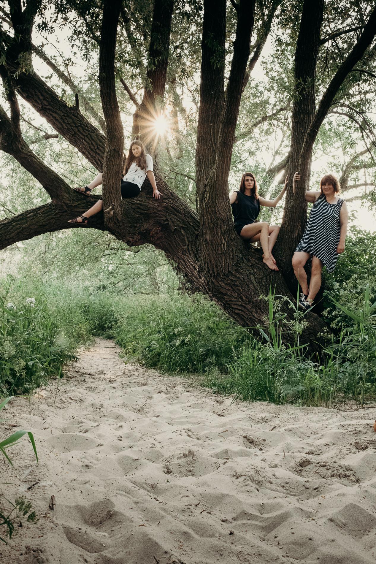 """Q&A zum Projekt """"Frauen auf Bäumen - ein Revival"""""""